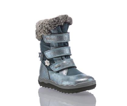 Primigi Primigi GoreTex Mädchen Schneeschuh Silberblau