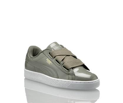 Puma Puma Basket Heart Patent Damen Sneaker