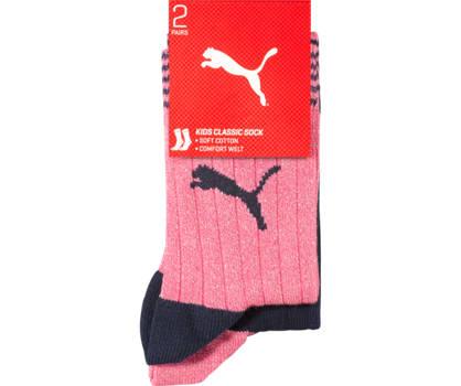 Puma Puma 2er Pack Mädchen Socken 27-30; 31-34