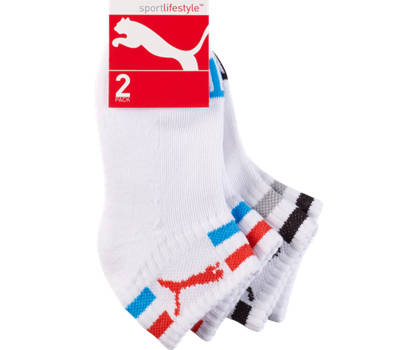 Puma Puma 2er Pack Socken Quarter Kinder 27-30; 31-34