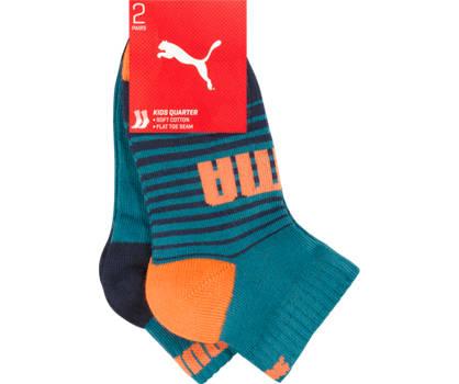 Puma Puma quarter 2 pairs chaussettes garçons 27-30; 31-34