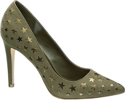 Ellie Star Collection Pumps grün