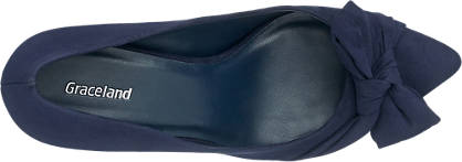 Graceland Pumps blau