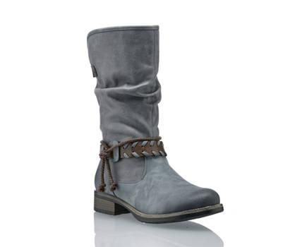 Rieker Rieker Damen Stiefel Blau