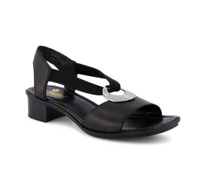 Rieker Rieker Victoria sandale femmes noir