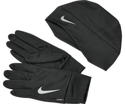 Nike Running Handschuhe und Mütze Set