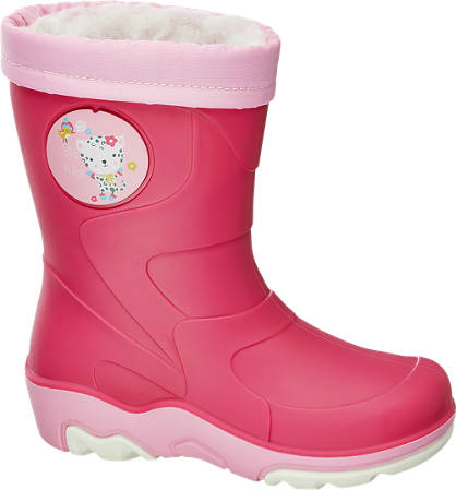 Cortina Rózsaszín bélelt gumicsizma