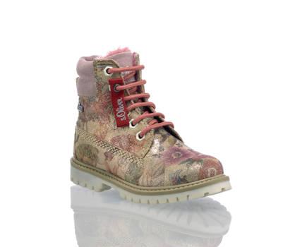 S.Oliver S'Oliver boot à lacet enfants multicolore