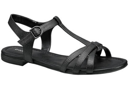 Graceland Sandal - Reptil-Look