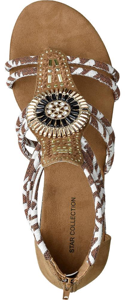 Ellie Star Collection Sandale  braun
