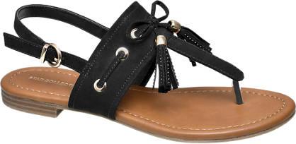 Ellie Star Collection Sandale  schwarz