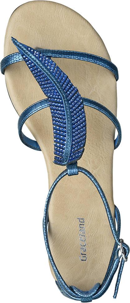 Graceland Sandale blau