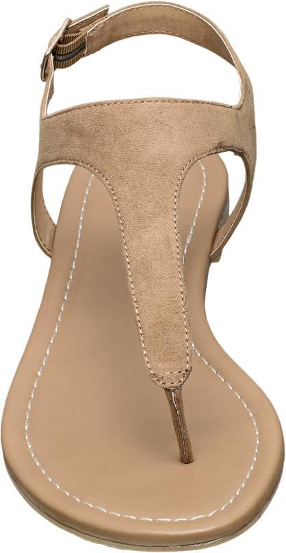 Graceland Sandale camel