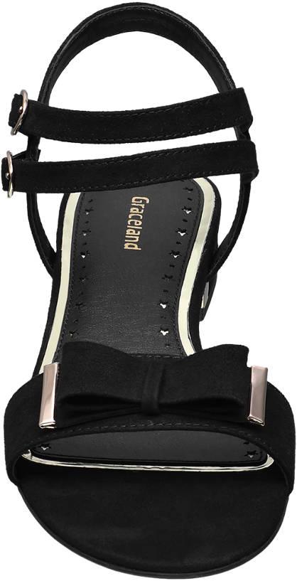 Graceland Sandale schwarz