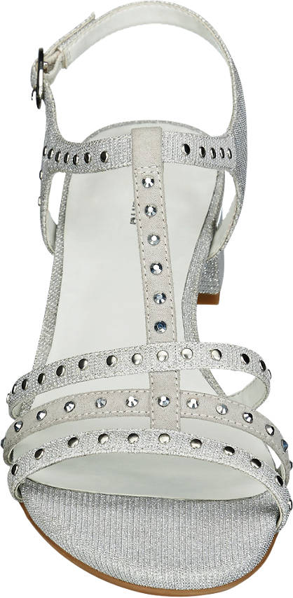 Graceland Sandale silber