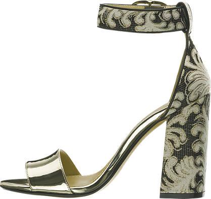 Catwalk Sandalette  gold, schwarz