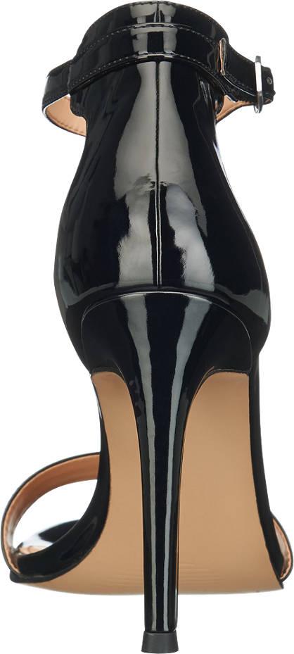 Catwalk Sandalette bis Größe 46 schwarz