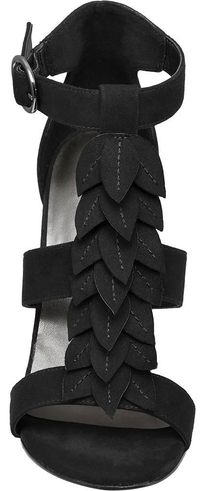 Ellie Star Collection Sandalette schwarz
