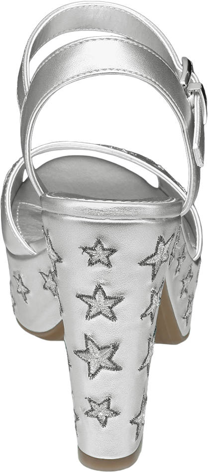 Ellie Star Collection Sandalette silber