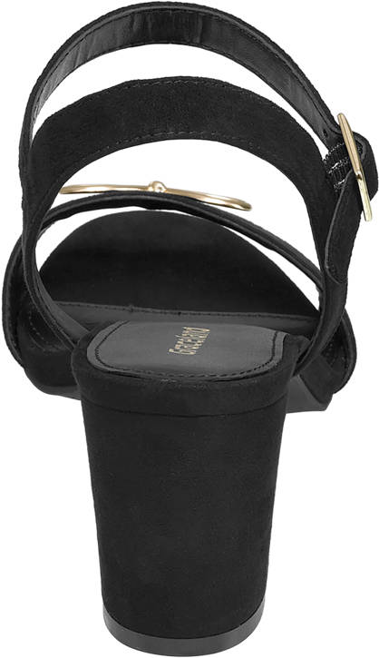 Graceland Sandalette schwarz