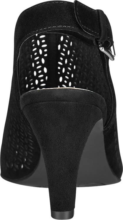 5th Avenue Sandalette schwarz