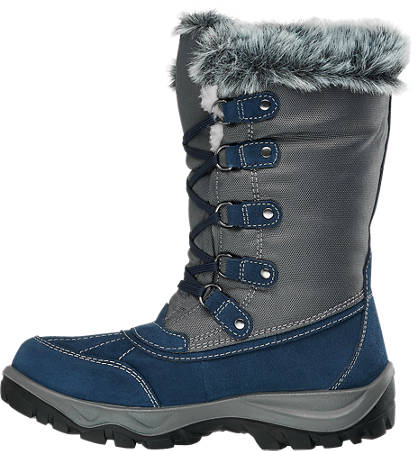Cortina Schnee Boots blau