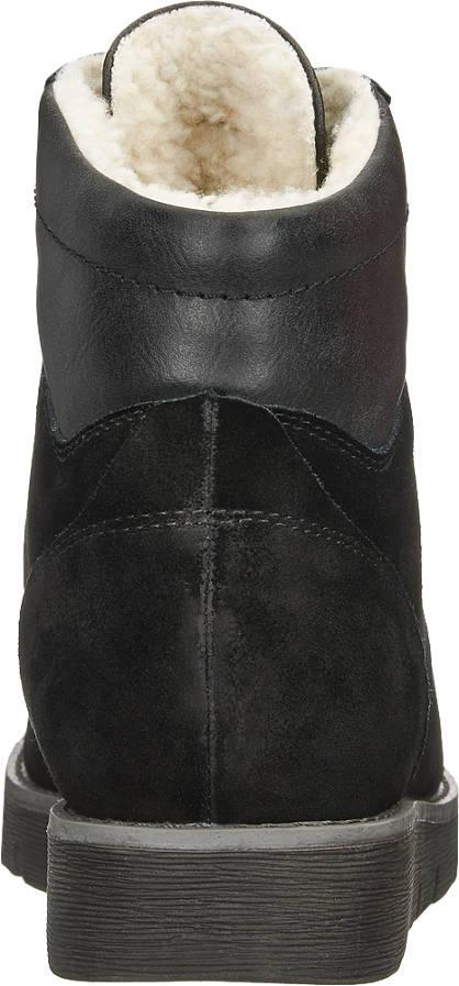 Medicus Schnürboots, Weite H schwarz, grau