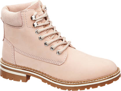 Landrover Schnürboots rosa