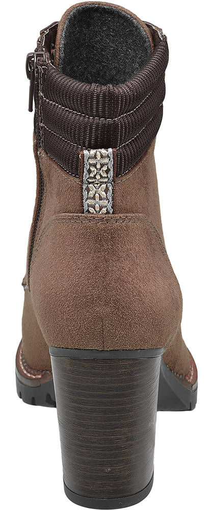 Ellie Star Collection Schnürstiefelette braun