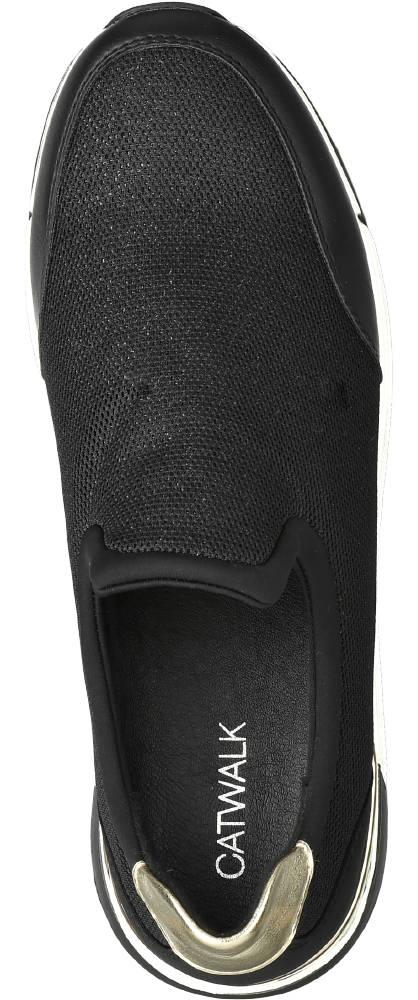 Catwalk Slipper schwarz