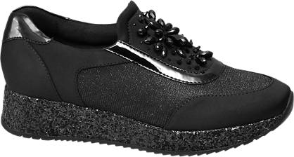 Catwalk Slipper schwarz