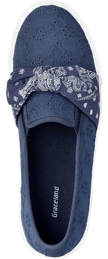 Graceland Slipper blau