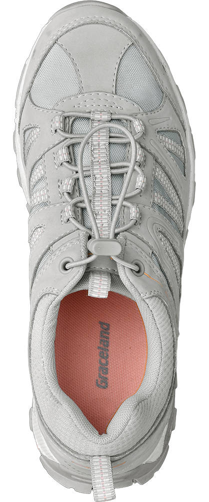 Graceland Sneaker  grau, pink