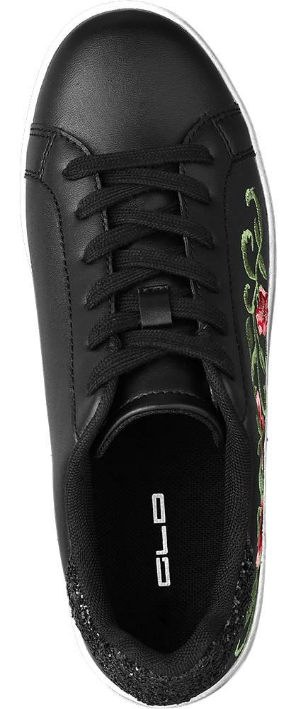 Graceland Sneaker  schwarz, rot, grün