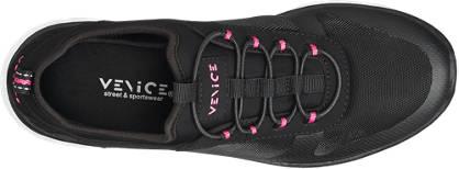 Venice Sneaker  schwarz, pink