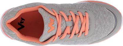 Vty Sneaker  grau, lachs