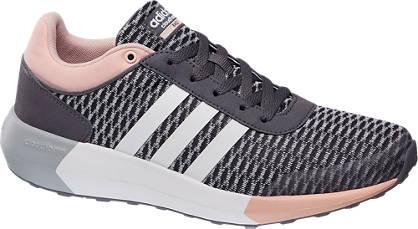 adidas neo label Sneaker CF RACE W grau, weiß, rosa