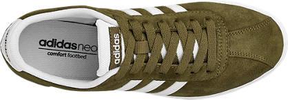 adidas neo label Sneaker COURTSET W olive, weiß
