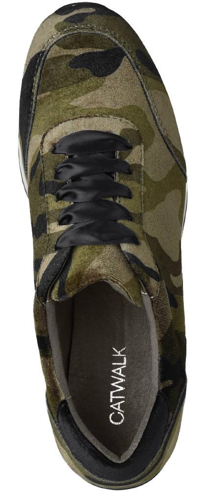 Catwalk Sneaker grün