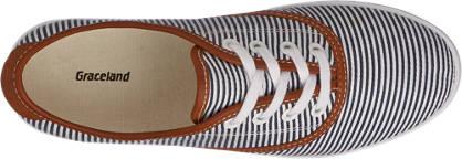 Graceland Sneaker blau, weiß