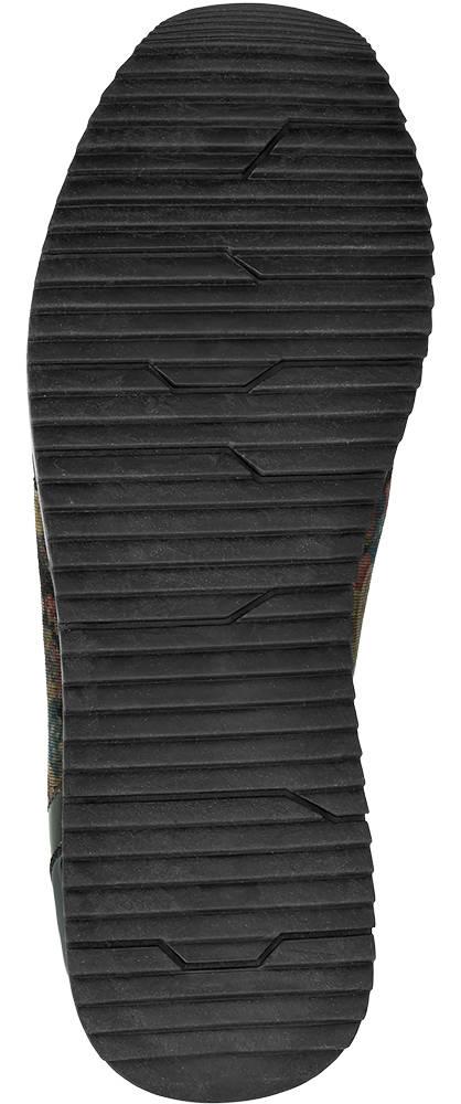 Graceland Sneaker grün-schwarz