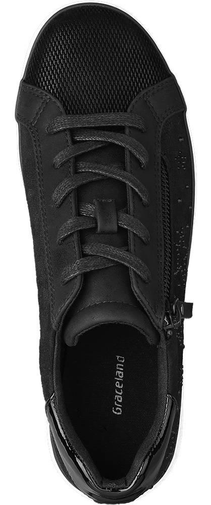 Graceland Sneaker schwarz