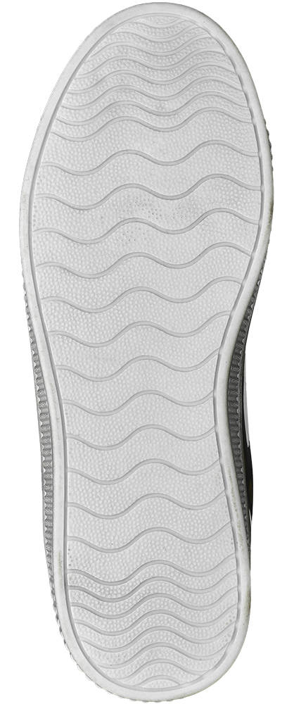 Graceland Sneaker schwarz, silber