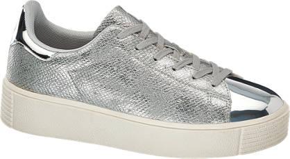 Graceland Sneaker silber, metallic