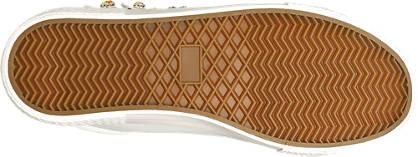 Graceland Sneaker weiß, gold,rot