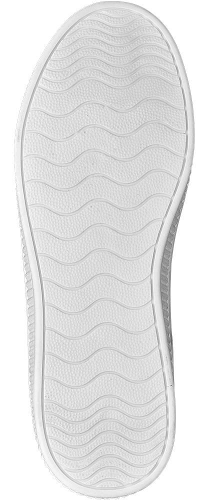 Graceland Sneaker weiß, silber
