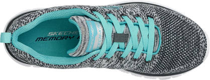 Skechers Sneaker grau, hellblau
