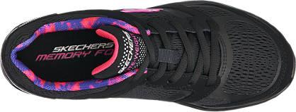 Skechers Sneaker schwarz, pink