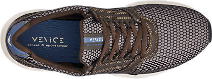 Venice Sneaker braun, grau, schwarz