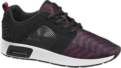 Venice Sneaker pink, schwarz